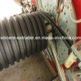 Ligne machine d'extrusion enterrée par HDPE de drain