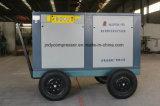 Compresseur d'air portatif de vis de Pétrole-Moins à haute pression de mine