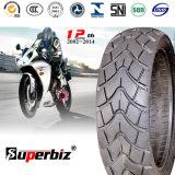 Nouveau OEM de 13 pouces 6pr de la courroie de nylon en caoutchouc naturel des pneus diagonaux Mixed Pattern vide moto pneu (130/60-13) avec la SCA