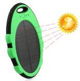 5000mAh Cargador solar móvil Teléfono Móvil Solar Power Bank, banco de potencia, Móvil alimentación