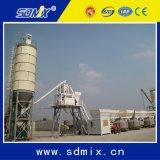 Silo do cimento do uso da construção para a planta de tratamento por lotes concreta