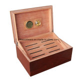 Humidificateur en bois de cigare de métier de fini de piano d'Ashtree