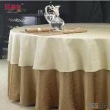 結婚式のジャカード円形のテーブルクロス