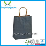 Kundenspezifische Luxuxpapierbeutel-Kraftpapier-kosmetische Verpackungsgestaltung