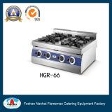 6バーナーのガス範囲(HGR-66)