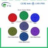 Il RGB colora la lampada telecomandata cambiante della lampadina del LED E27 PAR56