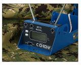 Pantalla LCD mide la velocidad de viñeta de maestro de la caza de cronógrafo de disparo de la versión Beta