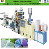 Linea di produzione molle rigida dello strato del PVC macchina di fabbricazione di piatto del PVC