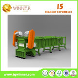 Único Shredder do eixo para o plástico Waste e o metal que recicl a maquinaria