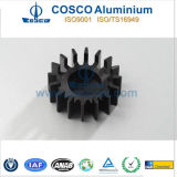 De Zonnebloem Heatsink van het aluminium/van het Aluminium met & CNC die machinaal bewerken anodiseren