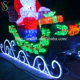 クリスマスの装飾LEDサンタクロースライト