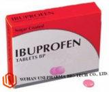Ibuprofeno revestido ou comprimidos revestidos por película Bp 200mg Medicamentos antipiréticos e analgésicos