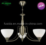 Indicatore luminoso di vetro europeo del lampadario a bracci del lampadario a bracci (P-8133/3)
