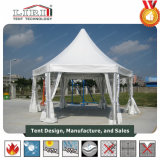 5X5m Luxury High Peak Waterproof Aluminum Gazebo Party Tent