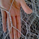 PVC上塗を施してある六角形の金網の網(2.0mmに4.0mm)