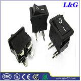 힘 맞은 PCB 단말기 단추 마이크로 로커 스위치 (SS21)
