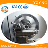 合金の車輪の改修CNCの旋盤の車輪修理装置