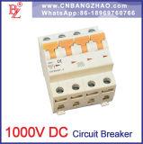 China-Lieferant 1 Pole bis 4 Pole MCB 1000V Gleichstrom-Unterbrecher