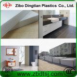 Panneau imperméable à l'eau blanc de mousse de PVC du plastique 2015 pour la construction