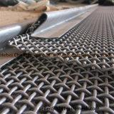 Alta resistencia y dureza engarzado la malla de alambre utilizado en las Trituradoras de Piedra de vibración