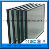 Painel de vidro isolado para a parede de cortina