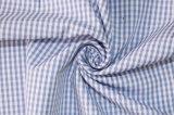 Verificações de fios têxteis de algodão poliéster tingida Camiseiros uniforme tecido Camisa