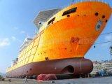 ゴム製海洋出荷ボートの進水のエアバッグ