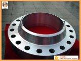 La pièce de rechange de construction navale d'ajustage de précision de pipe de matériel de gisement de pétrole a modifié la bride