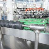 Brillante de la máquina de embotellamiento de agua para botellas de vidrio