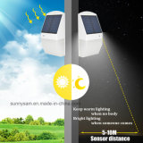 El diseño más reciente de la luz solar inalámbrica Sensor de radar de 25 LED Lámpara de Pared Jardín iluminación impermeable al aire libre