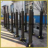 Cilindros hidráulicos da alta qualidade com elevador telescópico do caminhão