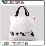 Sacchetto di acquisto non tessuto di carta della maniglia della tela di canapa del cotone del sacchetto di acquisto del regalo (X012)