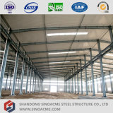 Luz de prefabricados Sinoacme Workshop com estrutura metálica