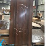 Piel moldeada hecha frente melamina de la puerta de HDF/MDF con nuevo diseño
