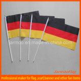 Полиэстер Германия стороны развевается флаг
