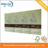 Feliz tarjeta de felicitación de Navidad de papel (QY150031)