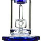 Verbogenes Stutzen-Zylinder-Schweizer Huka-Glas-rauchende Wasser-Rohre (ES-GB-355)