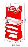 Cmyk Custom Paper Cartón de impresión de pie para mostrar el chocolate