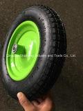 바퀴 압축 공기를 넣은 타이어 3.25-8 외바퀴 손수레 타이어