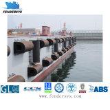 Cuscino ammortizzatore di gomma marino di D per protezione del lato della nave