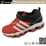 Chaussures occasionnelles de gosses de sports neufs avec la rondelle à ressort Hf598-2