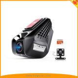 Камеры 2.0 '' 1296p 170&deg WiFi кулачка черточки двойные; Широкоформатно с монитором стоянкы автомобилей, записью петли, G-Датчиком, дистанционным управлением