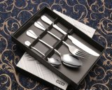 Ensemble de coutellerie en acier inoxydable à couteau-couteau pour vaisselle (B22)