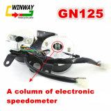 Ww-7299 de Snelheidsmeter van het Deel van het Instrument van de motorfiets voor Gn125 Hj125