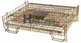 De opvouwbare Kooien van de Draad van de Opslag van het Pakhuis van het Staal Logistische
