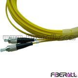 En mode unique pour FC LC/PC/PC Cordon de brassage à fibres optiques duplex