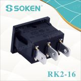 Kcd2 Mini Interruptor De Balancín Sin Lámparas Rocker Switch T120
