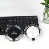 Caricatore senza fili di carico senza fili veloce del Qi del rilievo con il cavo del USB