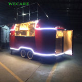 ハンバーガーのための電気移動式台所カート