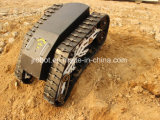 Chassis de trilhos de borracha de veículos de rastreamento (K02-SP6MSAT9)